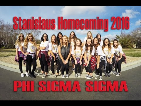 Stanislaus Homecoming 2016 Phi Sigma Sigma