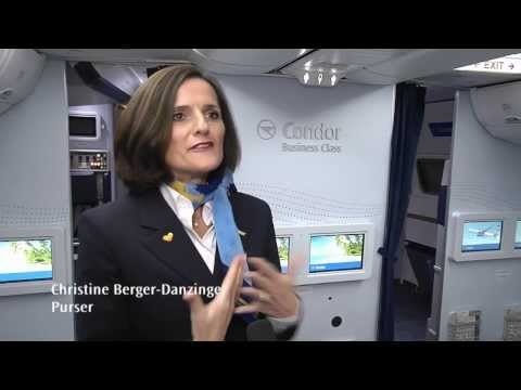 CondorTV: New Boeing 767 Cabin Interior of Condor Airlines, Part of the Thomas Cook Group