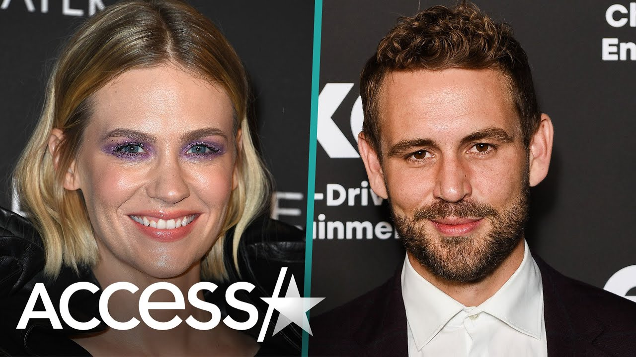 January Jones Reveals She Dated 'The Bachelor's' Nick Viall After He Slid Into Her DM's