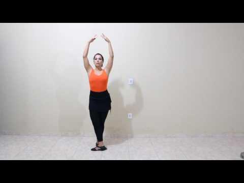 Passos de ballet - Port de Bras e posições dos pés