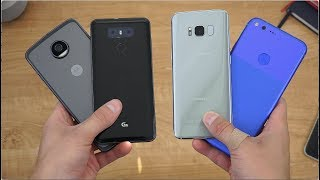 Always On Display Comparison! S8, G6, & More