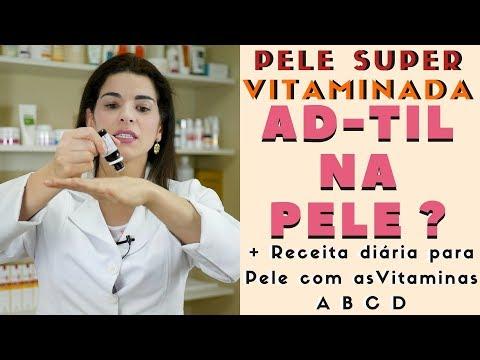 Baixar Pele Vitaminada com AD-TIL na Pele? Receita com as Vitaminas A B C e D
