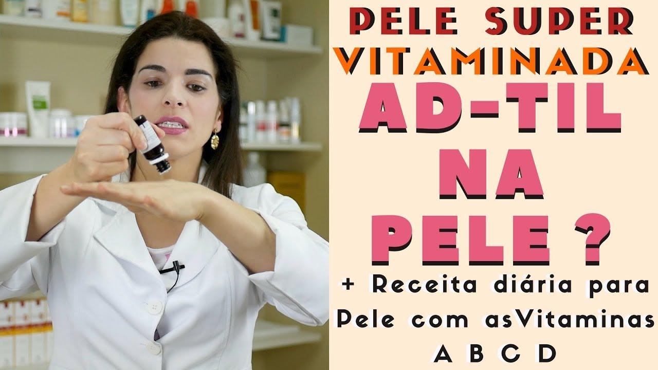 benefícios de um creme de vitamina para a pele