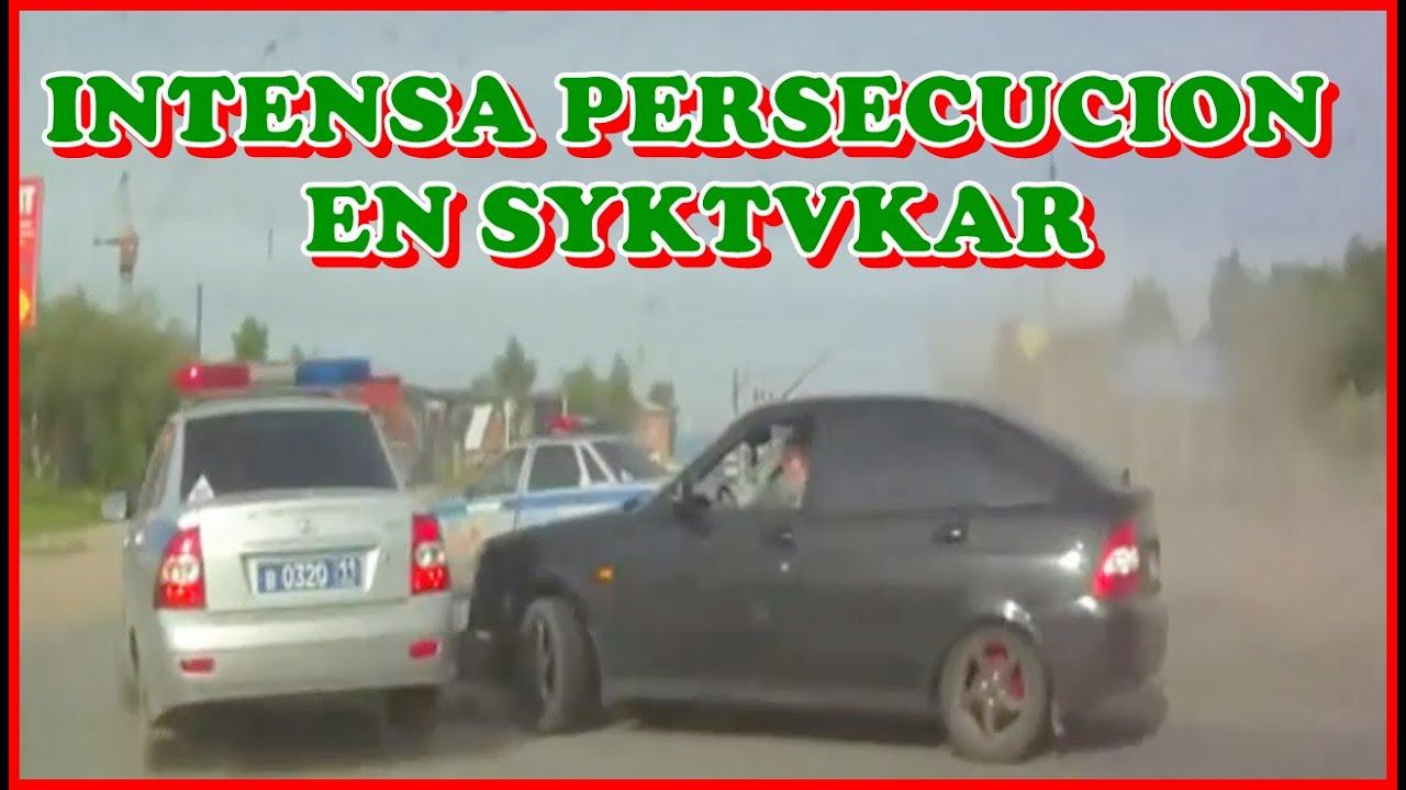 Intensa Persecución Policial en Syktyvkar, Komi  / No 22 / PPyM