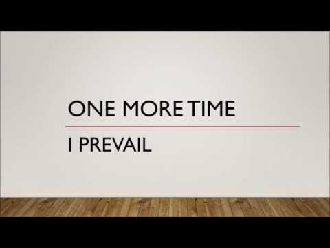I Prevail - One More Time (Lyrics)