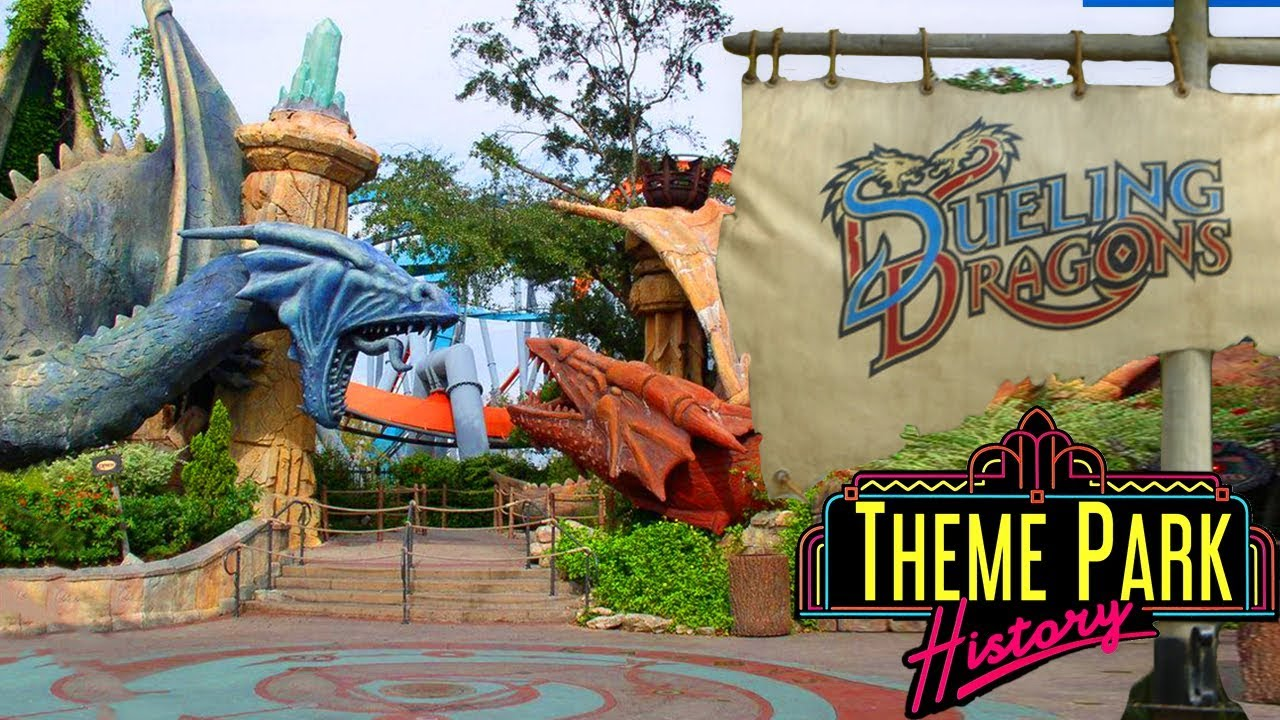 The Theme Park History of Dueling Dragons/Dragon Challenge (Universal's  Islands of Adventure)