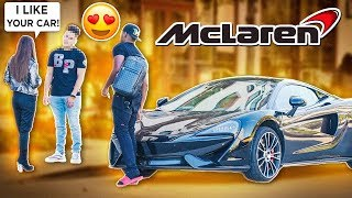 MCLAREN GOLD DIGGER PRANK PART 4! | Nate Got Keys
