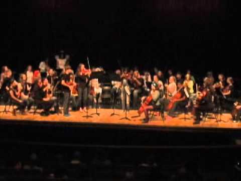 Berkeley Middle School/Jamestown High School/Lafayette High School Orchestra Fall Concert 2014