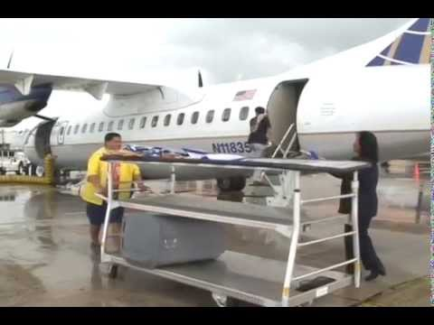 CNMI Congressman Sablan Meets With United About Cape Air Service Interruptions