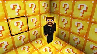 ВЫЖИВАНИЕ ВНУТРИ ЛАКИ БЛОКА - Minecraft Лаки Блоки