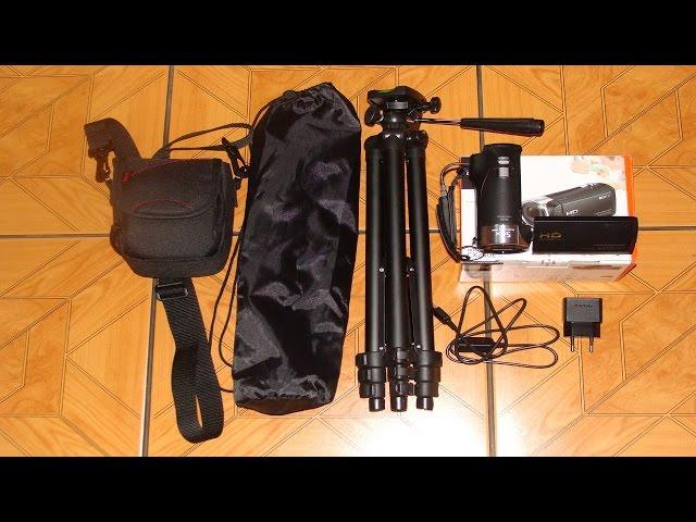 Test Kamery SONY HDR-CX240E oraz prezentacja statywu Camrock TA30 + kotek xD