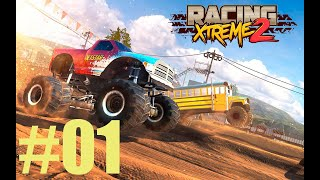 GAMEPLAY RACING XTREME 2 CORRA COM MONSTER TRUCKS DOMINE SEUS RIVAIS ANDROID #01