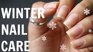 WHY YOUR NAILS ARE BREAKING/WINTER NAIL CARE ROUTINE | Banicured