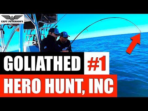 Hero Hunt, INC #1 Monsters - St George Island, FL Deep Sea Fishing