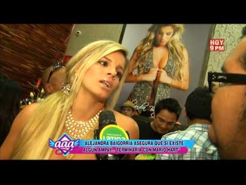 Alejandra Baigorria advierte a Mario Hart: