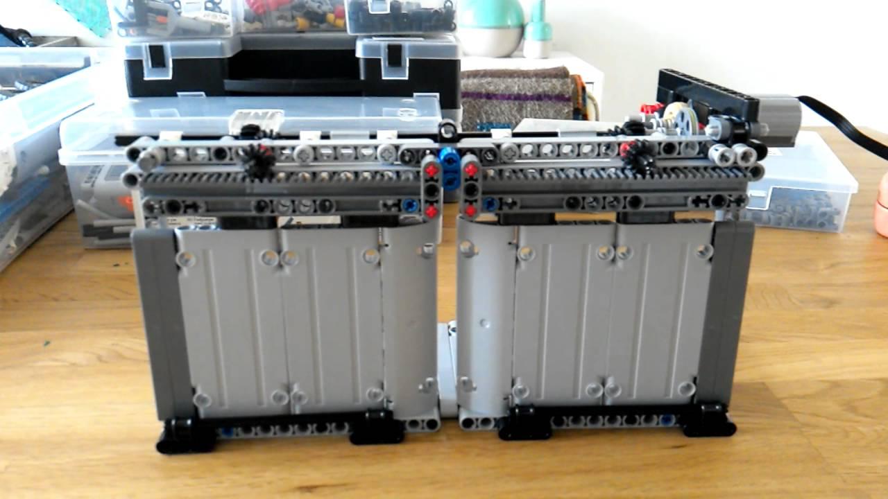 Lego Technic Sliding Doors Youtube