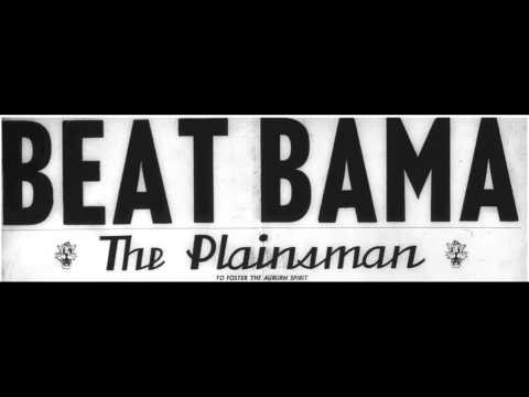 10 Minutes of 1956 Auburn students screaming Beat Bama