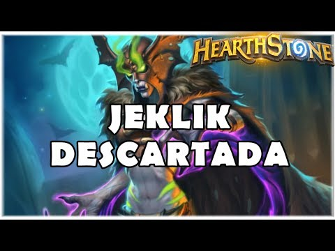 HEARTHSTONE - JEKLIK DESCARTADA! (STANDARD QUEST DISCARD WARLOCK)