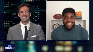 "Emmanuel Acho's ""Uncomfortable Conversations with a Black Man"" on ""The Issue Is w Elex Michaelson"""