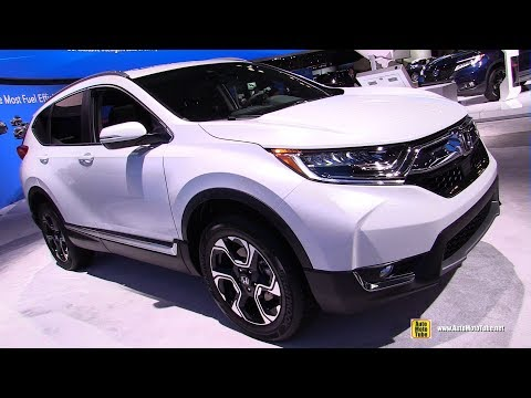 2019 Honda CRV Touring - Exterior and Interior Walkaround - 2019 NY Auto Show