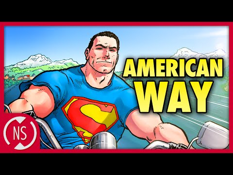 Why Does SUPERMAN Fight For The AMERICAN WAY?? || Comic Misc. || NerdSync
