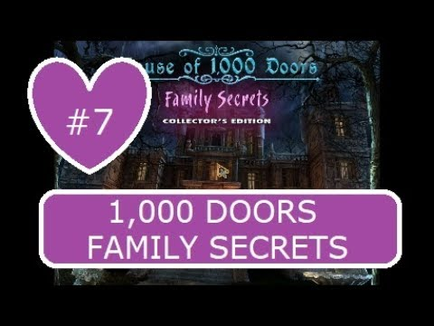House of a 1,000 Doors Family Secrets Collectors Edition  7/10  