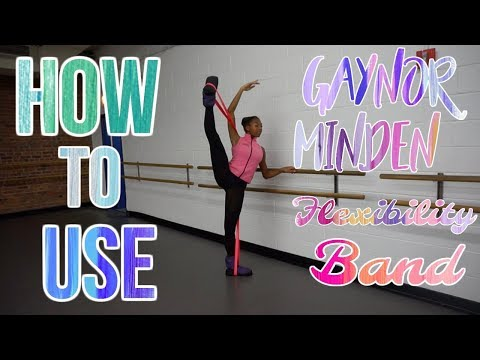 How To Use The Gaynor Minden Flexibility Band | Life As Gabi♡♡♡ videó letöltés
