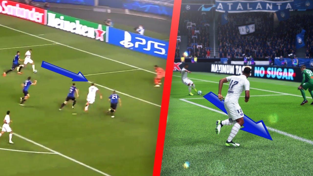 REPRODUIRE LES BUTS DE PSG ATALANTA SUR FIFA !