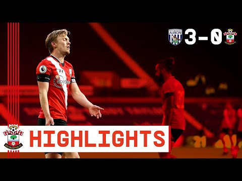 90-SECOND HIGHLIGHTS: West Bromwich Albion 3-0 Southampton | Premier League