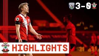 90-SECOND HIGHLIGHTS: West Bromwich Albion 3-0 Southampton | Premier League