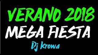 VERANO 2018 MEGA FIESTA BOLICHERO MIX REGGAETON Y CUMBIA MEGA EXPLOTADO DJ KROWA