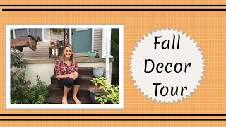 Fall Decor Tour || Fall Decorations 2018 || Holiday Home Decorations