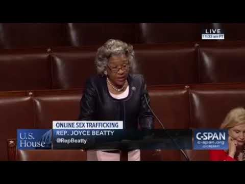 Congresswoman Beatty Urges Passage of Allow States and Victims to Fight Online Sex Trafficking Act