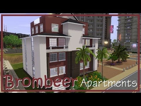 "Sims 3 Hausbau: ""Brombeer-Apartments"""