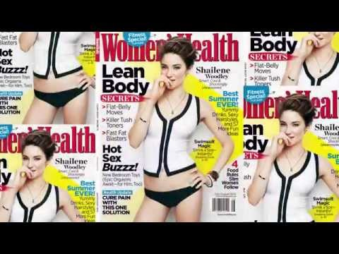 Shailene Woodley || Women's Health Magazine