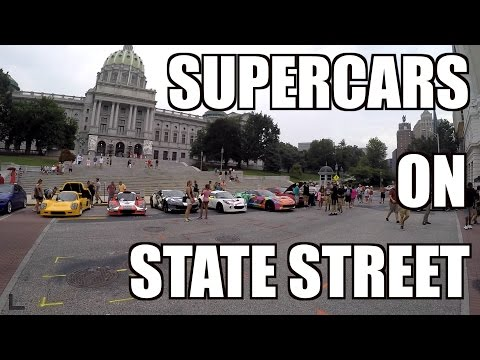 Supercars On State Street 2016 - Viper Road Trip!