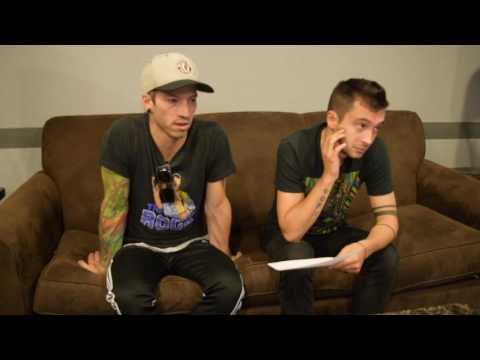 Twenty One Pilots Answers Questions from Lansing-Area 97.5 NOW FM Listeners