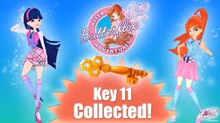 I just collected Key 11 - Winx Club: Butterflix Adventures