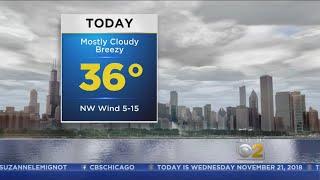 CBS 2 Weather Watch (6AM, Nov. 21, 2018)