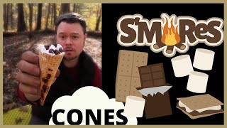Campfire Cooking Collab Dessert Edition: Smore Cones