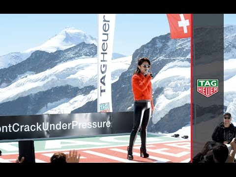 TAG Heuer | G.E.M. rocks on the top of Europe