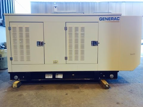 Used-Generac 70 kW standby (63 kW prime) natural gas generator set - Stock# 46501001