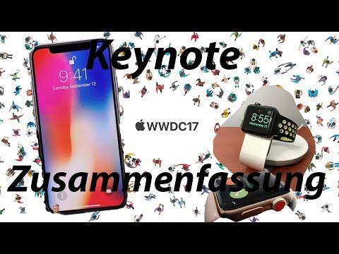 iPhone X - iPhone 8 - Apple Watch Series 3 & Apple TV 4k - Keynote 2017 Zusammenfassung
