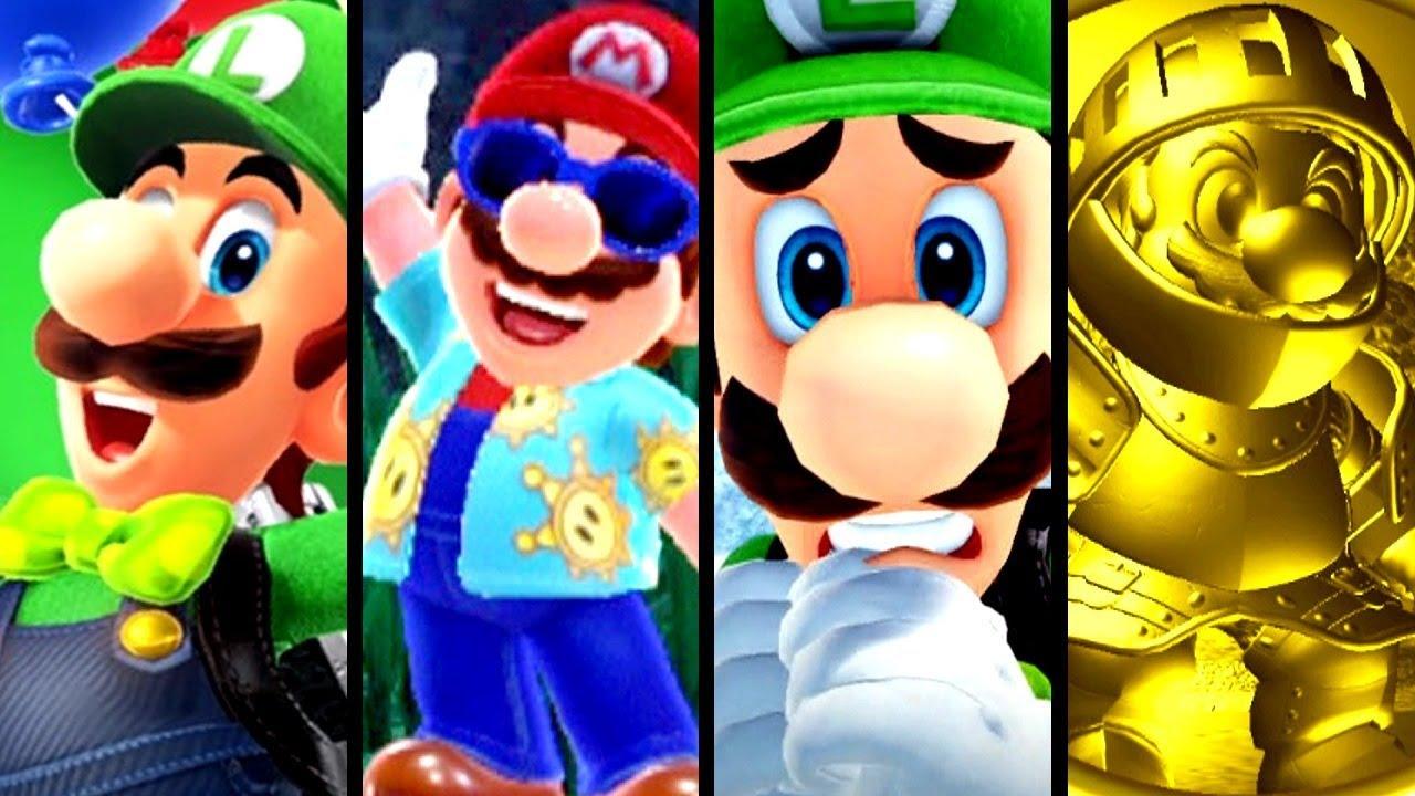 Super Mario Odyssey ALL NEW FEATURES - Luigi's Balloon World Update (Switch)