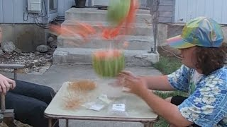 Make Watermelons EXPLODE!!!