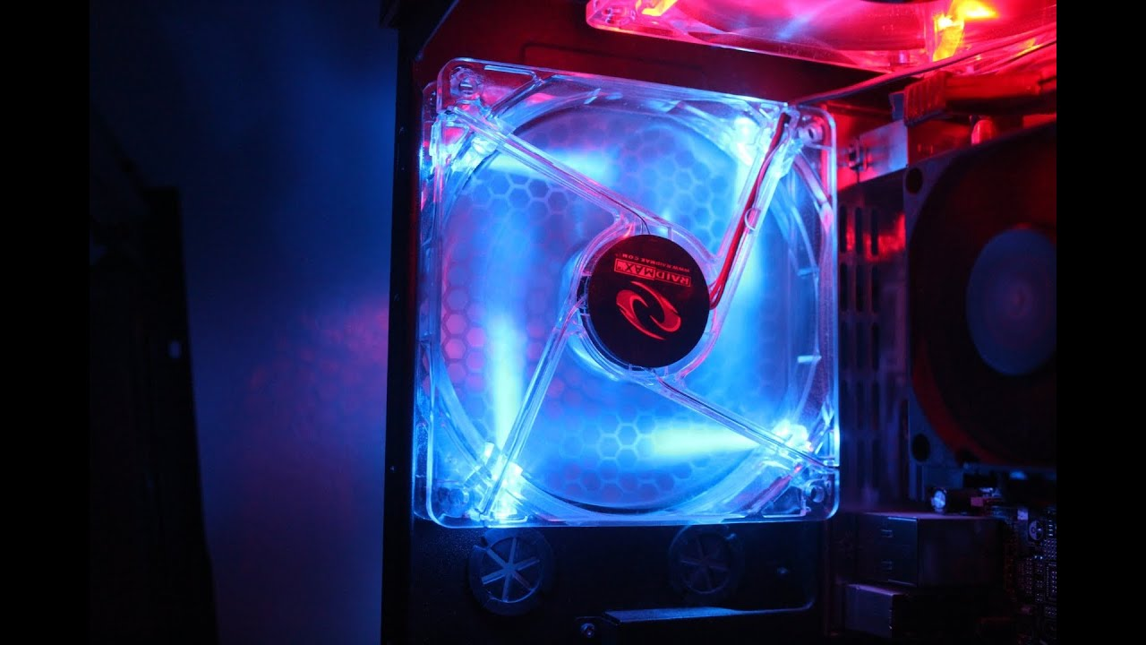 How To Install A Led Fan Into Your Computer Easy Rosewill