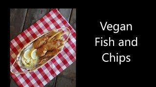Vegan Fish and Chips from Banana Blossoms