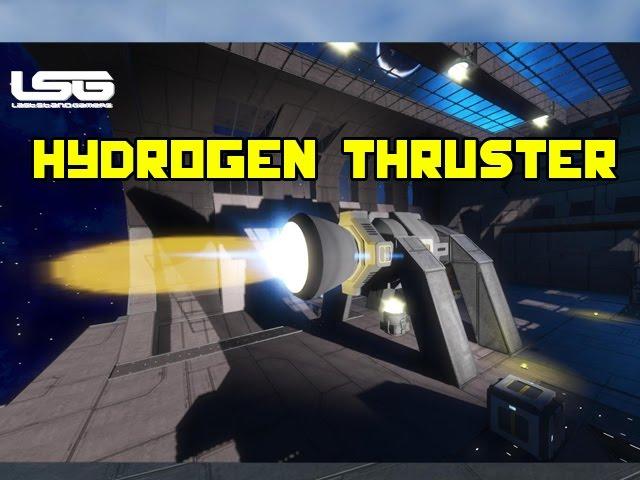 Space Engineers Hydrogen Rocket Thruster Update Youtube
