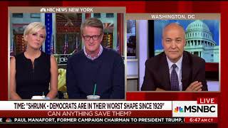 Morning Joe Panel Asks, What's Wrong With The Democratic Party