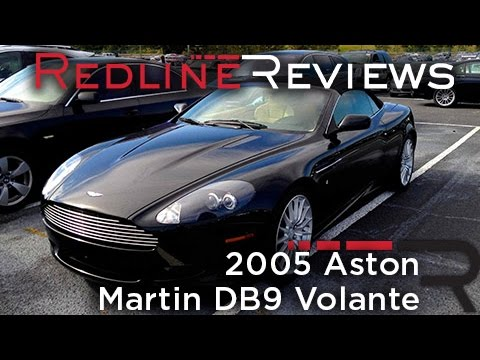 2005 Aston Martin DB9 Volante Review, Walkaround, Startup, Exhaust